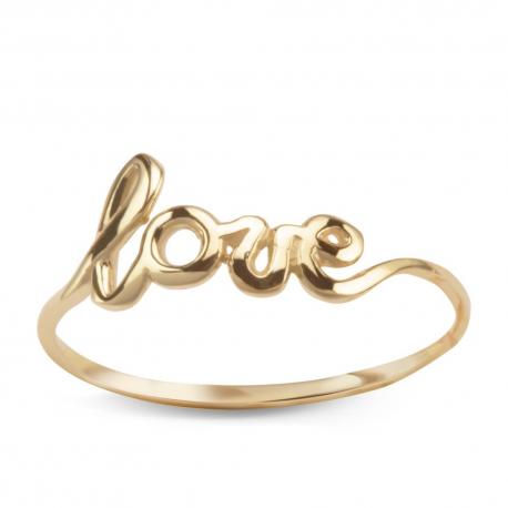 f70a649aec721b Złoty Pierścionek Love Jubiler Gil