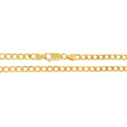 Złoty łańcuszek pancerka 55 cm